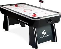 72-Inch Air Powered Hockey Table with Pop-Up Scorer, Puck and Pusher Accessories Included AAAAB25 ReviewsDescriptionSpecifi
