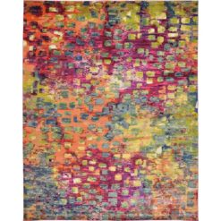 Abstract Multicolor Area Rug