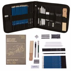 Clearance Bellofy Professional Drawing Kit Artist Drawing Supplies Kit