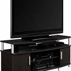 "Click image to open expanded view Ameriwood Home Carson TV Stand for TVs up to 50"" Wide (Espresso)"
