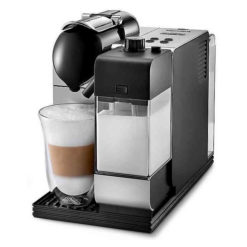 Click image to open expanded view Nespresso by De'Longhi EN520SL Lattissima Plus Espresso and Cappuccino Machine with Nespresso Capsule System, Silver