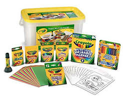 Crayola Super Art Coloring Kit, Gift for Kids, Over 100Piece (Amazon Exclusive) by Crayola
