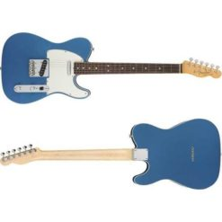 """Fender Limited Edition Player Telecaster Electric Guitar, 22 Frets, Modern """"C"""" Shape Neck, Maple Fingerboard, Gloss Polyester, Lake Placid Blue"""