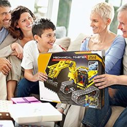 Gili Building Sets for 7, 8, 9, 10 Year Old Boys & Girls, Construction Engineering Robot Toys for Kids Age 6-12, Educational STEM Gifts for Kids