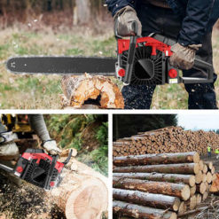 HappyDeal [Hot Sale+Delivery]!! 58CC 20 Inch 2 Stroke Guide Board Chainsaw Gasoline Powered Handheld Outdoor Garden Yard Use with Tool Kit