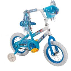 "Huffy 12"" Disney Pixar Finding Dory Bike with Training Wheels & Basket, Blue by Huffy"
