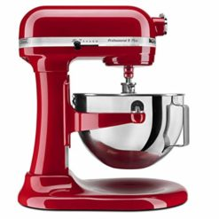 KitchenAid Professional HD Stand Mixer RKG25H0XER, 5-Quart, Empire Red,