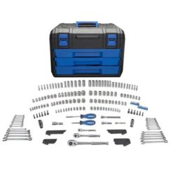 Kobalt 227-Piece Mechanic's Tool Set with Case (Metal Latches)