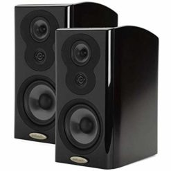 Polk Audio 2x LSiM703 Bookshelf Loudspeaker, 36Hz-40kHz, Midnight Mahogany
