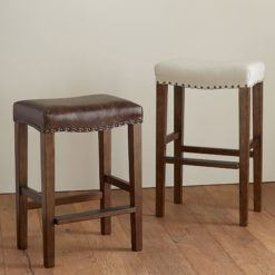 MANCHESTER BACKLESS BAR & COUNTER STOOL