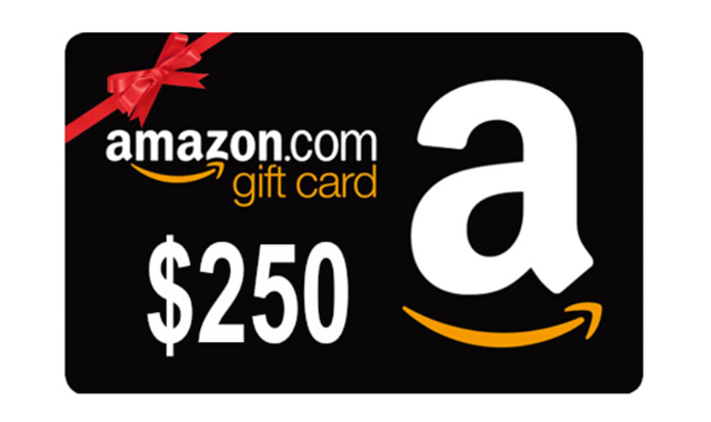 0 Amazon Gift Card Giveaway