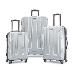 Samsonite-Centric-3-Piece-Expandable-Hardside-Spinner-Luggage-Set,-Silver