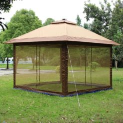 Fully+Enclosed+Canopy+12+Ft.+W+x+12+Ft.+D+Aluminum+Pop-Up+Gazebo