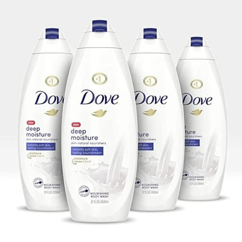 Dove Body Wash For Dry Skin Deep Moisture Just Slashed