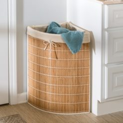 Wicker+Laundry+Hamper