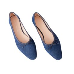 Georgie Ballet Flat Denim